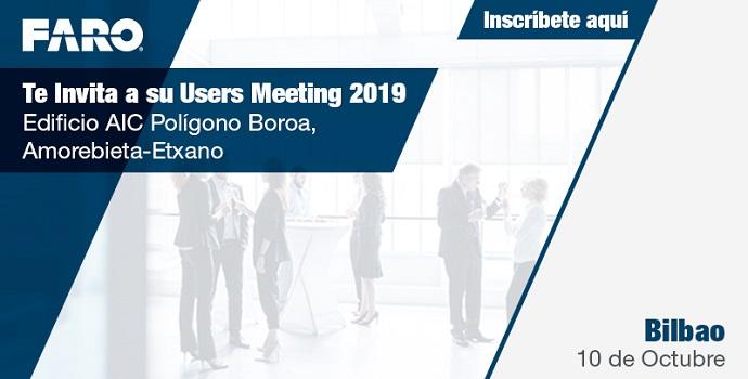 "FARO organiza su ""User Meeting 2019"" en Bilbao"