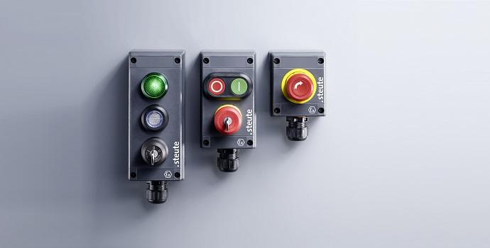 Interfaz hombre-máquina para condiciones ambientales desfavorables con las nuevas variantes de la serie Ex BF 80