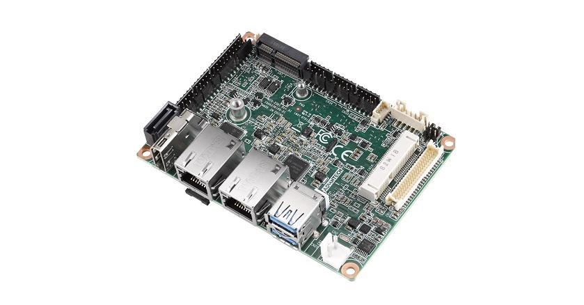 Robusto Pico-ITX MIO-2361 SBC con LPDDR4 a bordo y eMMC