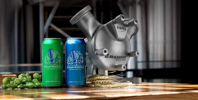 La bomba Certa 100 demuestra ser la opción ideal para la transferencia de levadura en una importante cervecera independiente