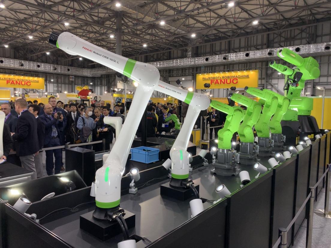 FANUC presenta un nuevo robot colaborativo ligero: elCRX-10iA