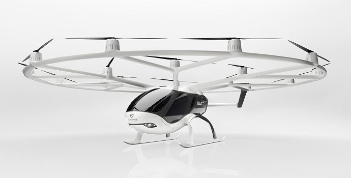 DB Schenker y Volocopter amplían su colaboración con una financiación de 87 millones de euros