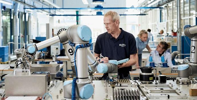 Advanced Factories muestra el auge de los brazos robóticos en Europade la mano de Universal Robots
