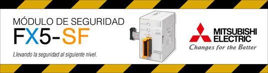 FX5-SF: nuevo módulo de seguridad para la serie de PLCs compactos iQ-F
