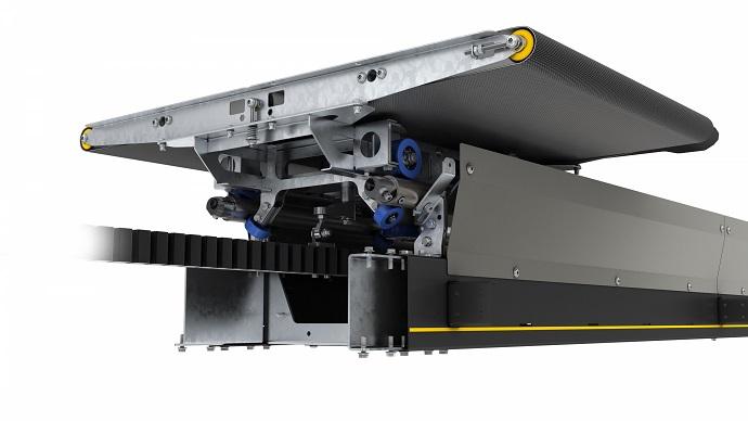 Interroll presenta MX 025H: el nuevo crossbelt sorter de alto rendimiento