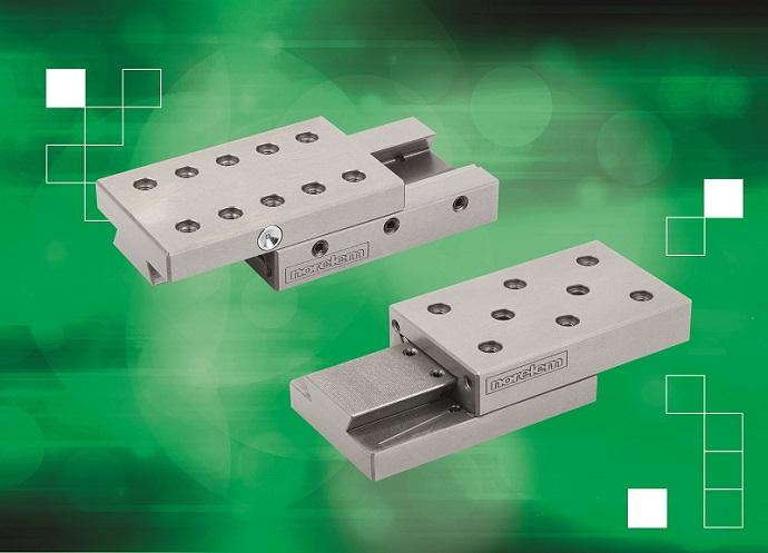 Las guías de precisión de norelem tienen una nueva gama modular de posicionamiento de precisión