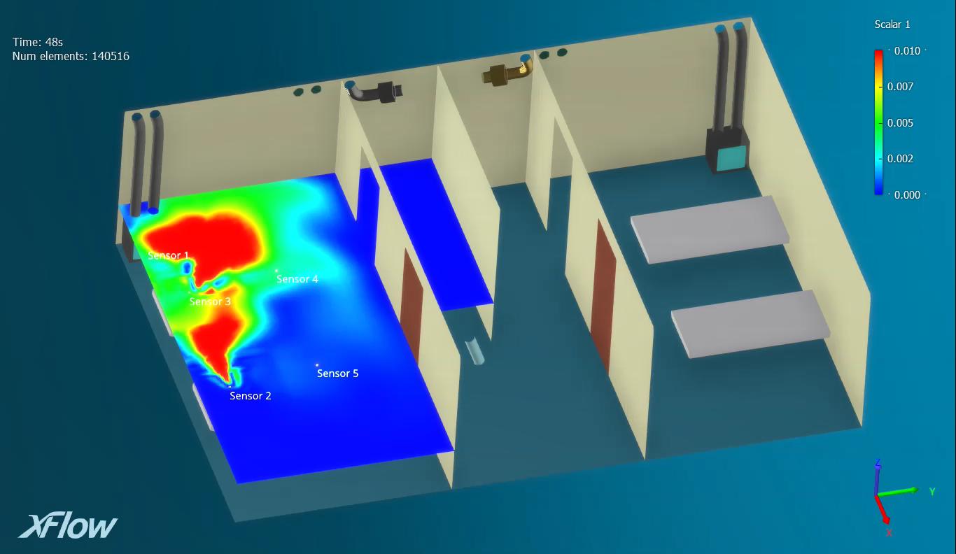 Las soluciones de simulación de Dassault Systèmes ayudan a la prevención de la dispersión del coronavirus en el hospital Leishenshan de Wuhan