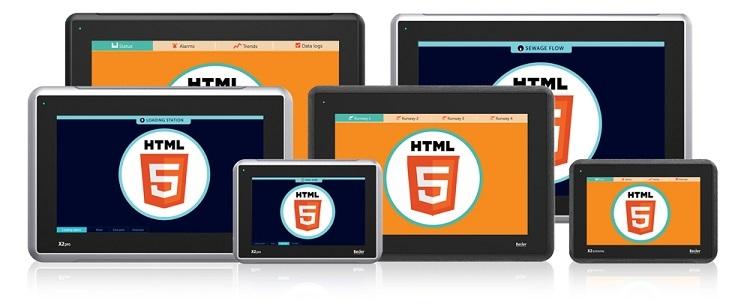 HMI web X2