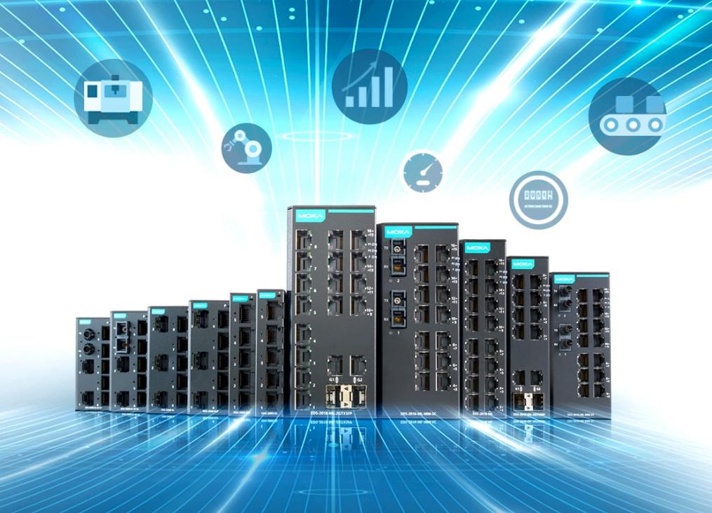 EDS-2000-EL y EDS-2000- ML de Moxa: la nueva gama de conmutadores Ethernet industriales desatendidos para la expansión de redes fiables