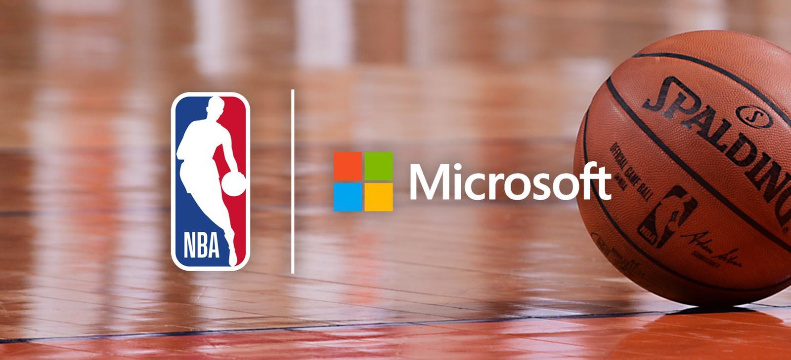 La NBA anuncia un nuevo patrocinio multianual con Microsoft para personalizar y redefinir la experiencia de los aficionados
