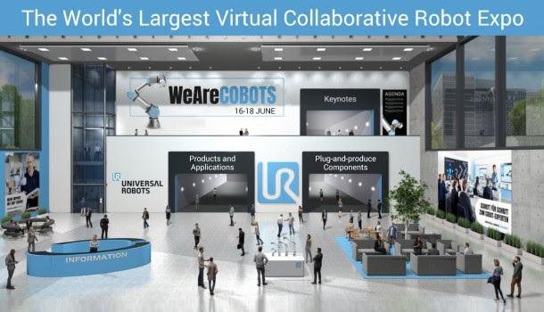 La flexibilidad productiva de los cobots marca el primer día de WeAreCOBOTS virtual