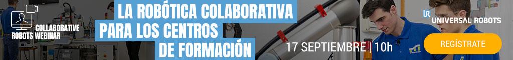 Robotica colaborativa en centros de formacion