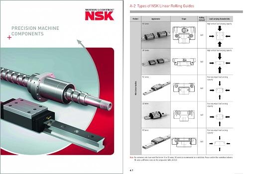 Nuevo catálogo de Precision Machine Components de NSK