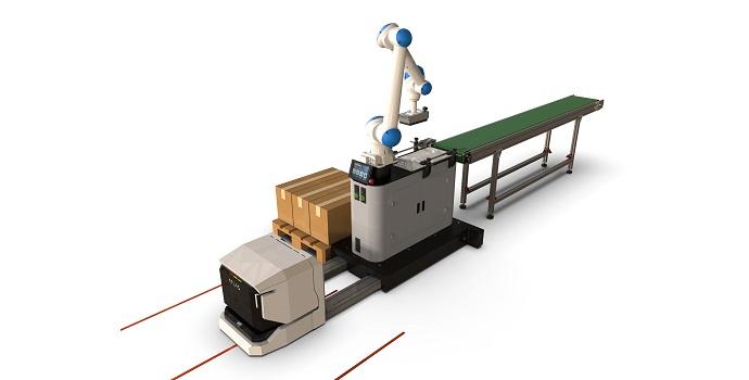Robot paletizador AGV Yaskawa