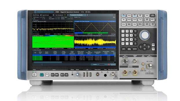 R&S FSW-B8001: Rohde & Schwarz actualiza su analizador de señal y espectro R&S FSW al ancho de banda de análisis interno de 8,3 GHz