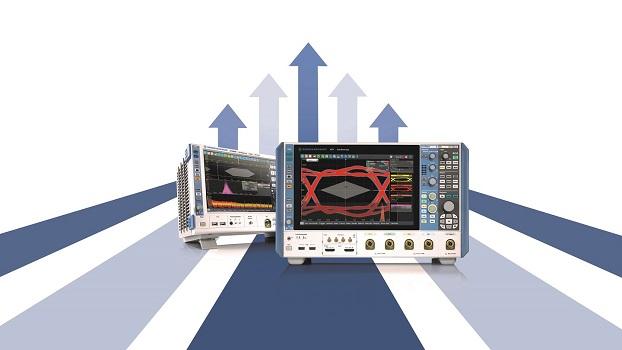 Rohde & Schwarz ofrece actualizaciones de ancho de banda sin cargo adicional al comprar sus osciloscopios R&S RTO2000 o R&S RTP