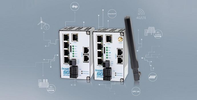 Ixxat SG: Nuevas pasarelas de red inteligente (SG, Smart Grid) Ixxat para IEC 61850 e IEC 60870 con soporte LTE