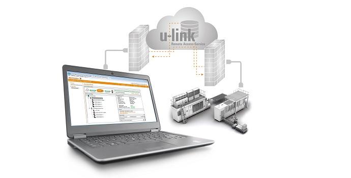 El servicio de acceso remoto u-link de Weidmueller te ayuda a reducir de manera fácil y segura las intervenciones de tu técnico de mantenimiento en hasta un 60%
