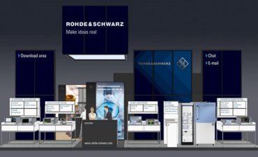 EuMW virtual: Rohde & Schwarz muestra soluciones fiables de test para aplicaciones del futuro que usan el rango de las microondas
