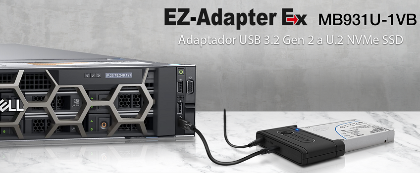 Icy Dock presenta una novedad e innovación mundial: el EZ-Adapter Ex MB931U-1VB