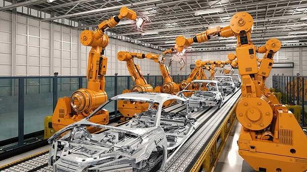 Fabricación robotizada de automóviles con Advantech ARK-2250