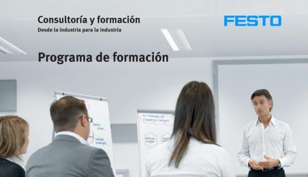 Festo se reafirma en su apuesta por la formación y lo puedes ver en Festo Consulting & Training