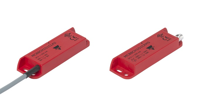 Serie MC88C: Sensores magnéticos de seguridad muy versátiles con larga distancia de conmutación