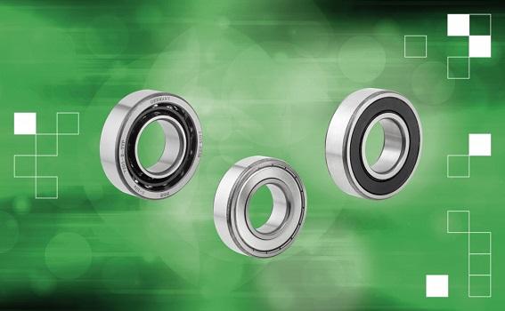 Carga fácil con los rodamientos de rodillos de baja fricción de norelem