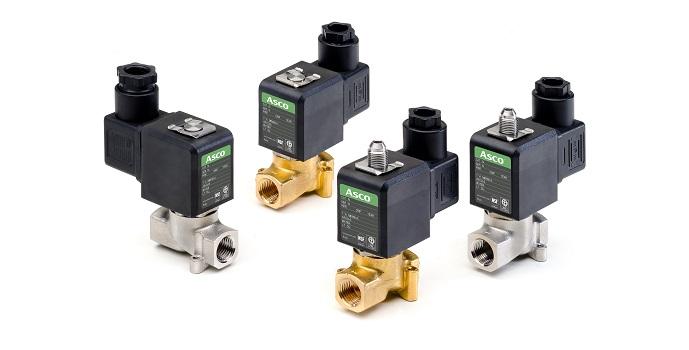Las nuevas series 256/356 de ASCO™ de electroválvulas permiten diseñar máquinas más compactas