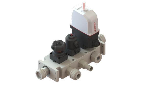 Nueva solución de bloque de válvulas multipuerto GEMÜ P600S