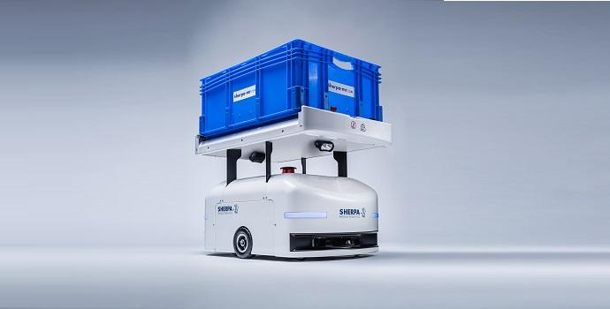 Sherpa Mobile Robotics despliega una flota de robots SHERPA-B para la automatización de líneas en FPT Industrial