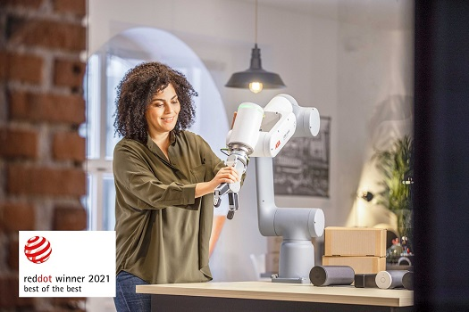 El nuevo cobot GoFa™ de ABB gana el prestigioso premio Best of the Best Red Dot