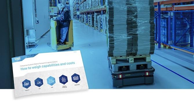 MiR lanza un nuevo e-Book sobre la automatización de la intra-logística