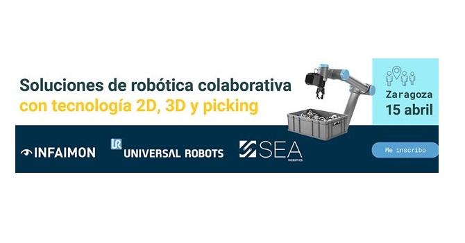 SEA organiza este jueves una jornada de robótica colaborativa conUniversal Robots e INFAIMON