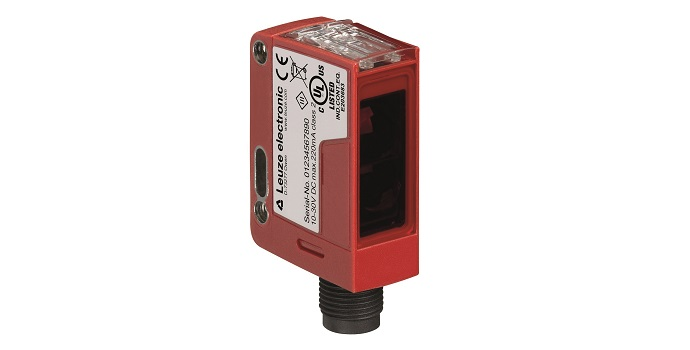 Aumentar la productividad y reducir los residuos con el nuevo sensor de conmutación DRT 25C de Leuze