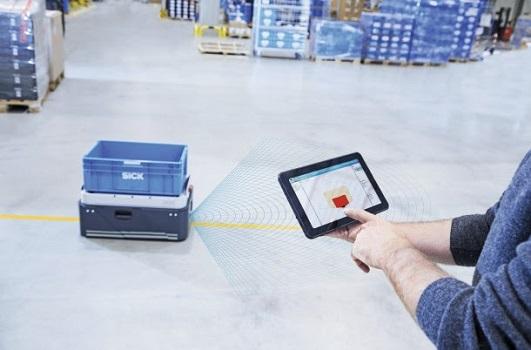 SICK lanza el sensor scanGrid2 con la solución LIDAR de seguridad de estado sólido para AGV´s y AGC´s