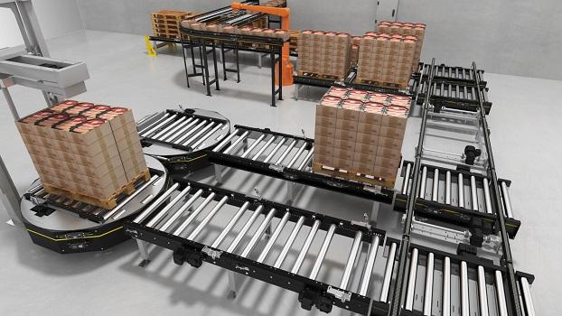 MultiControl: Interroll amplía su plataforma modular de transporte de paletas MPP con una solución de control flexible y potente