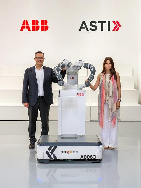 ABB adquiere ASTI Mobile Robotics Group para liderar la próxima generación de automatización flexible con Robots Móviles Autónomos