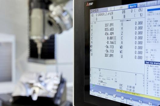 Zayer y Mitsubishi Electric unidos con la última tecnología en el mundo del mecanizado