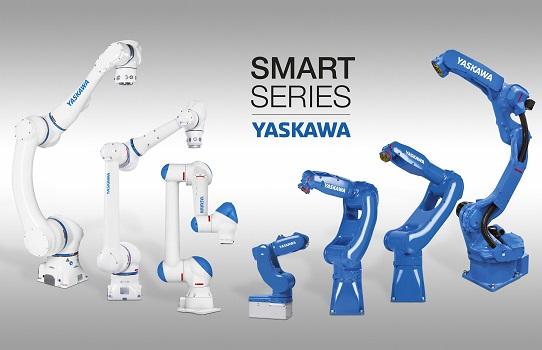 Smart Series de Yaskawa - robots MOTOMAN y herramientas de agarre como sistema plug & play