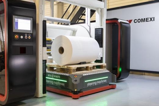 SICK y Steering Machines se unen para optimizar la carga y desplazamiento de robots móviles autónomos: AGVs - AMRs