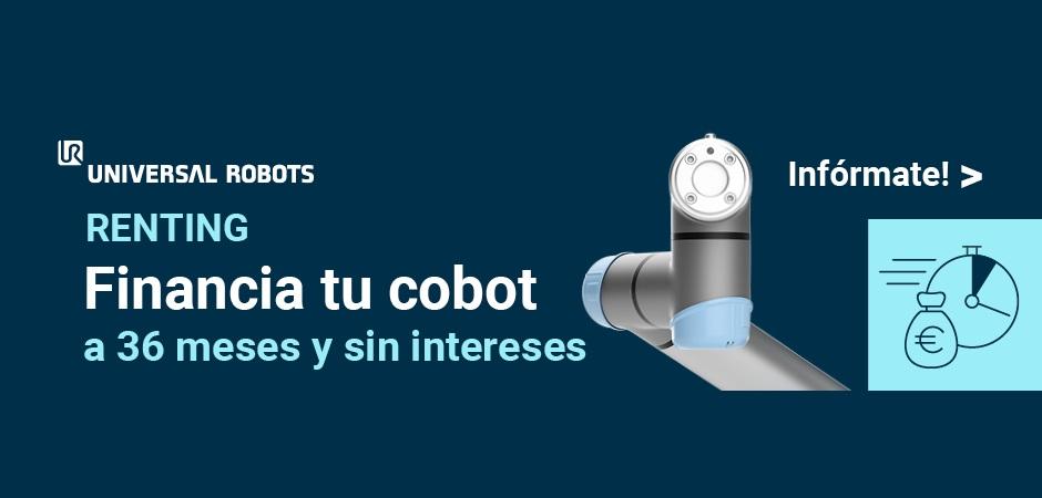 El programa de renting de cobots de Universal Robots presenta nuevas condiciones para ayudar a la automatización de las pymes